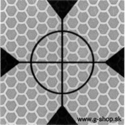 Odrazová fólia 4x4 cm - typ A