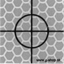 Odrazová fólia 6x6 cm - typ B