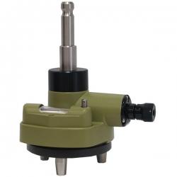 Rotačný adaptér s optickou olovnicou s koncovkou bajonet