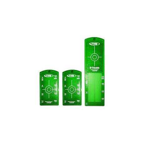 Terč pre vytyčovanie potrubí - zelený