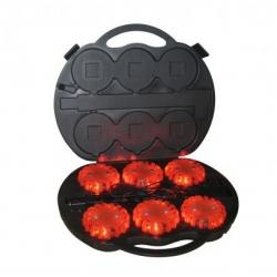 Set nabíjacích výstražných svetiel