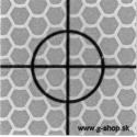 Odrazová fólia 2,5x2,5 cm - typ D