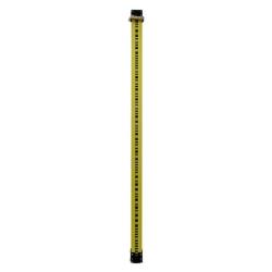 2 m invarová kódová lata LD12/b s rozšírenou pätou