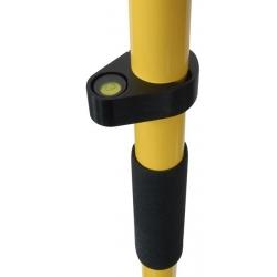 2 m žltá skladacia GNSS výtyčka