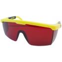 Červené laserové okuliare