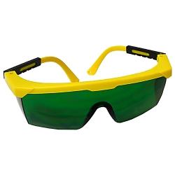 Zelené  laserové okuliare