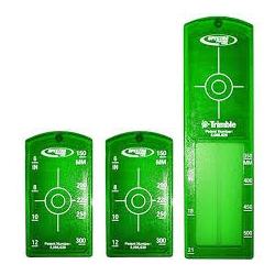 1x dlhá a 2x malé zelené vložky do terča