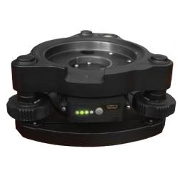 Kvalitná centračná podložka so zelenou laserovou olovnicou