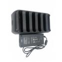 Nabíjačka na 6 batérií Trimble T10