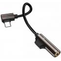 Redukcia z USB-C na USB-C + 3,5mm Jack