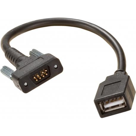 USB výstupový kábel zo Slate - samica